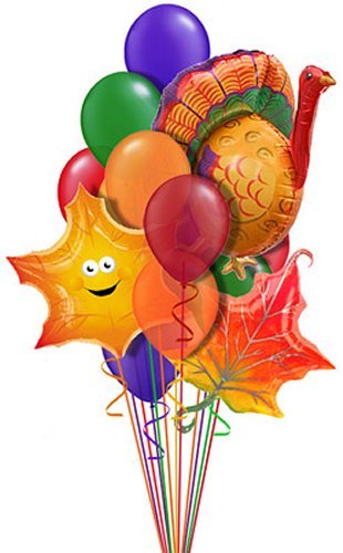 Thanksgiving Fall Boss Day Balloon Delivery And Decoration