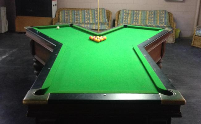 Oddly Shaped Pool Tables That Are Fun To Play On Wow Amazing