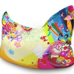 Mushroom Bean Bag Chair Design Classics Graffitti Junior Wow