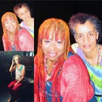 ACTRESS:  Tantra Zawadi (left) & AUTHOR: Lupe Family (right)