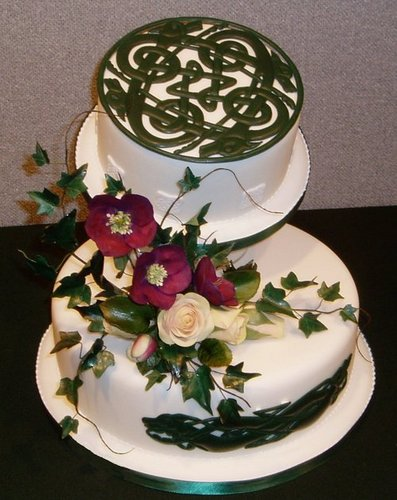 Celtic Wedding Cake WOW Cakes by Wendy Broadhead
