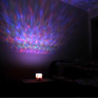 LOCOMOLIFE LED Color Changing Aurora Ocean Projector Pot ...