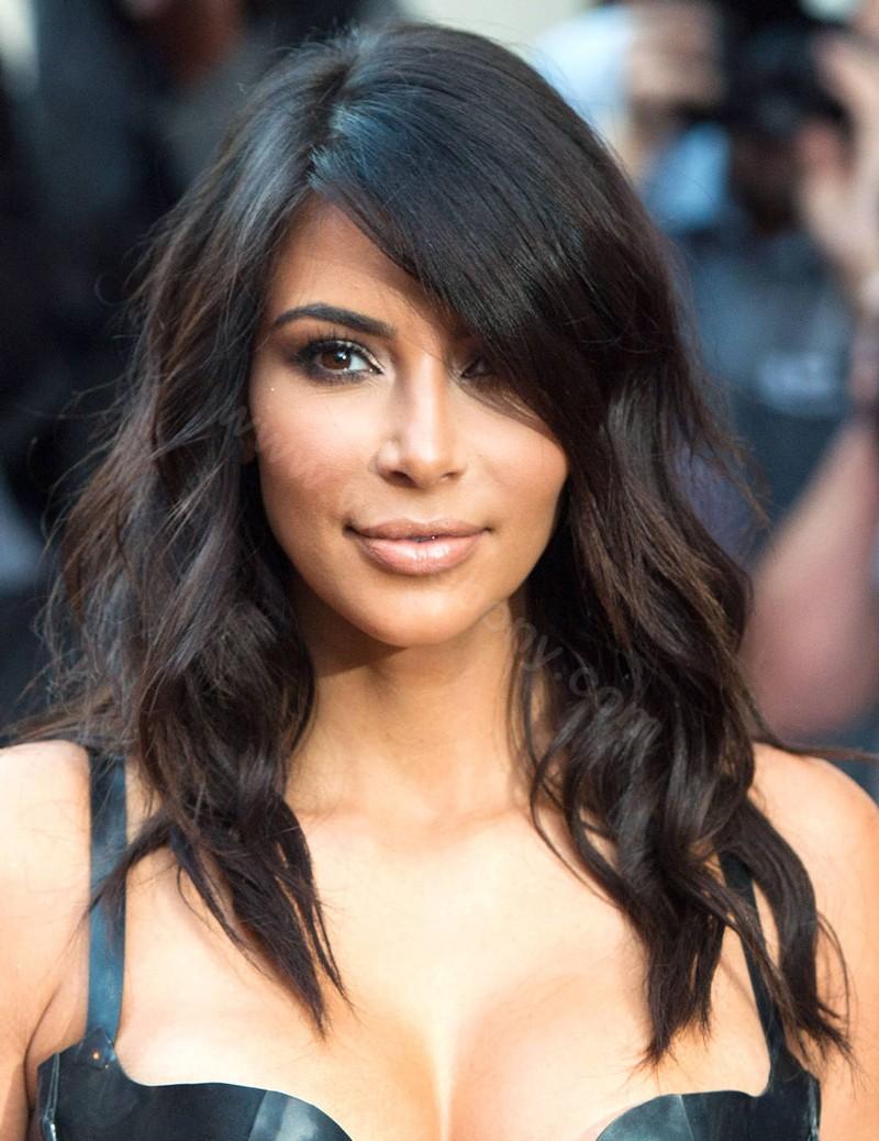 WowEbony Kim Kardashian Inspired Bob Cut Glueless Lace