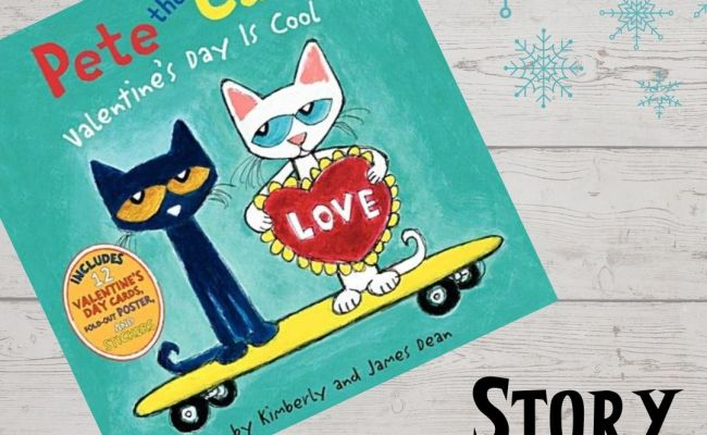 Story Painting Pete The Cat Valentine S Day Is Cool