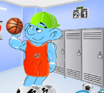 Sporty Smurf Dress Up