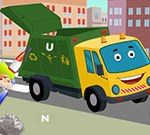 Garbage Trucks Hidden Letters