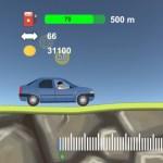 2D Hill Racing