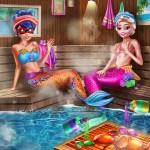 Mermaids Bffs Realife Sauna