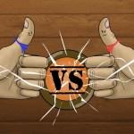 Thumb vs thumb