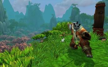 Monge Pandaren na Floresta Jade