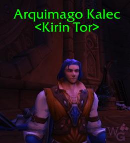 Arquimago Kalec em Shal'Aran