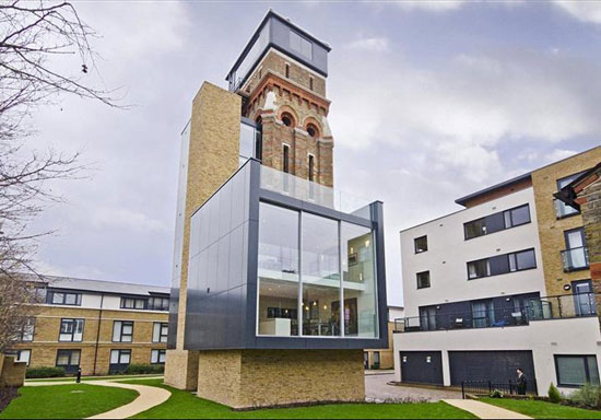 Grand Design For Sale The Water Tower Conversion In Kennington