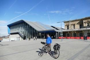 Wir starten bei der Bahnstation in Reading, die bequem von Oxford aus erreicht werden kann (25min Zugfahrt).