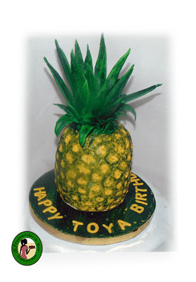 How To Decorate A Pineapple Cake Wow Is That Really Edible