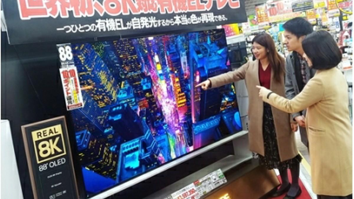 LG電子 日本で8K対応の有機ELテレビ発売│韓國経済│wowKora(ワウコリア)