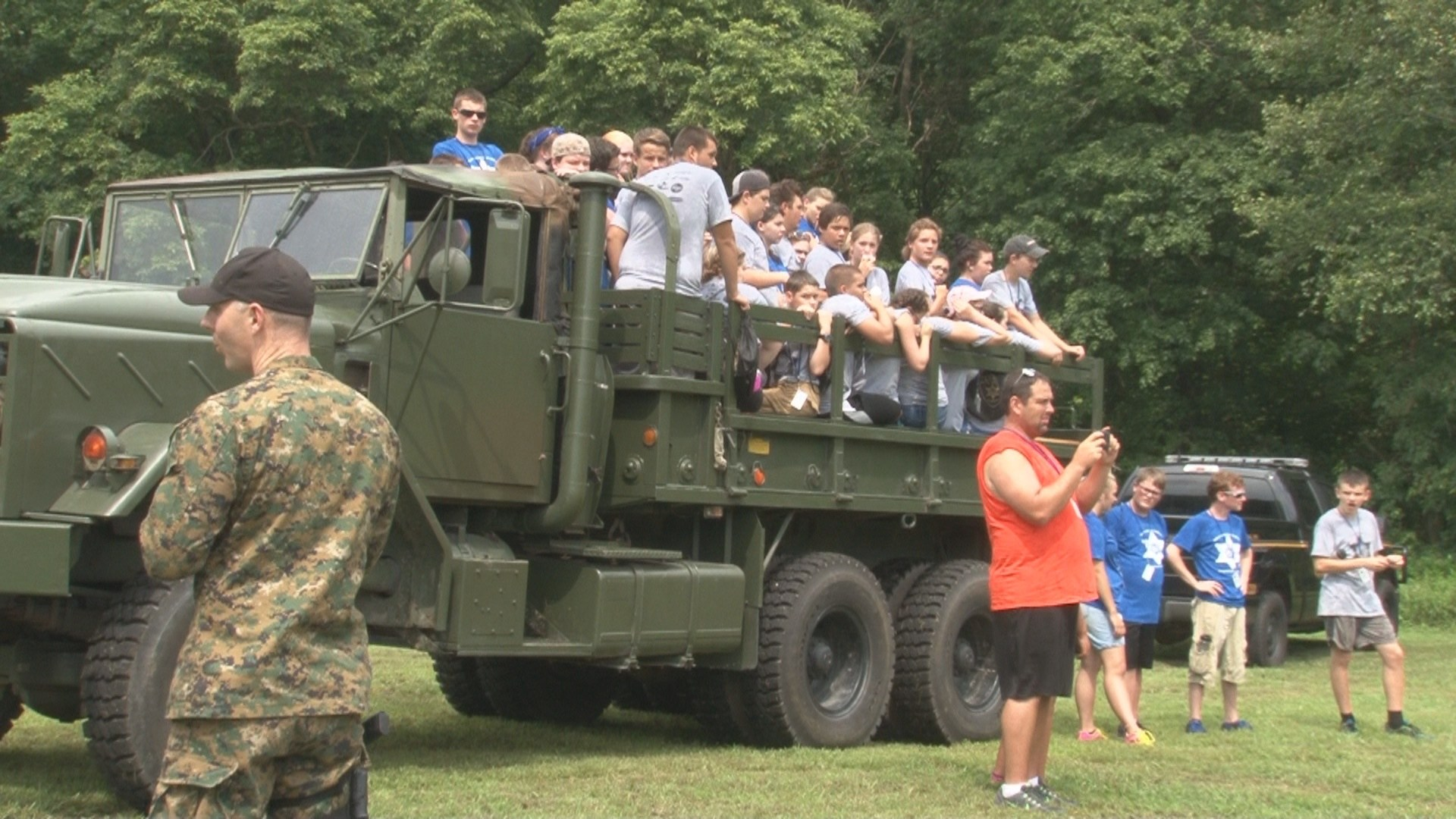 Sheriff leadership camp in Cabell County
