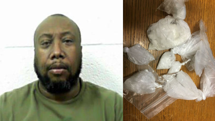 Man Arrested on Felony Drug Charges in Fayette County
