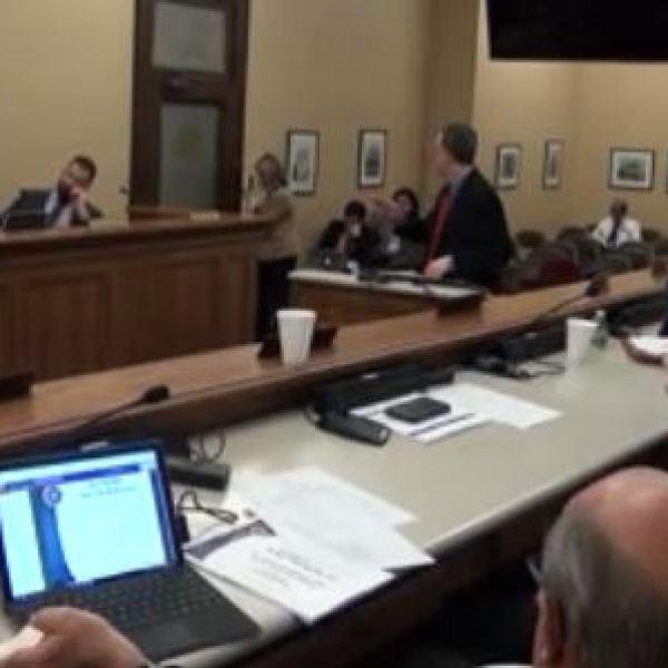 Allen Loughry testifies before Senate Finance.