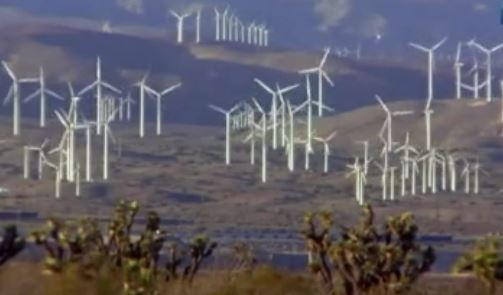 Wind, solar and hydrogen gas power plant coming to Hobet Mine.