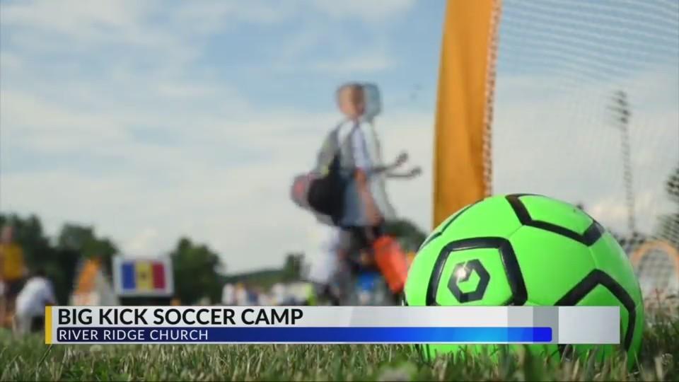 River Ridge Church Kicks Off Free Soccer Camp