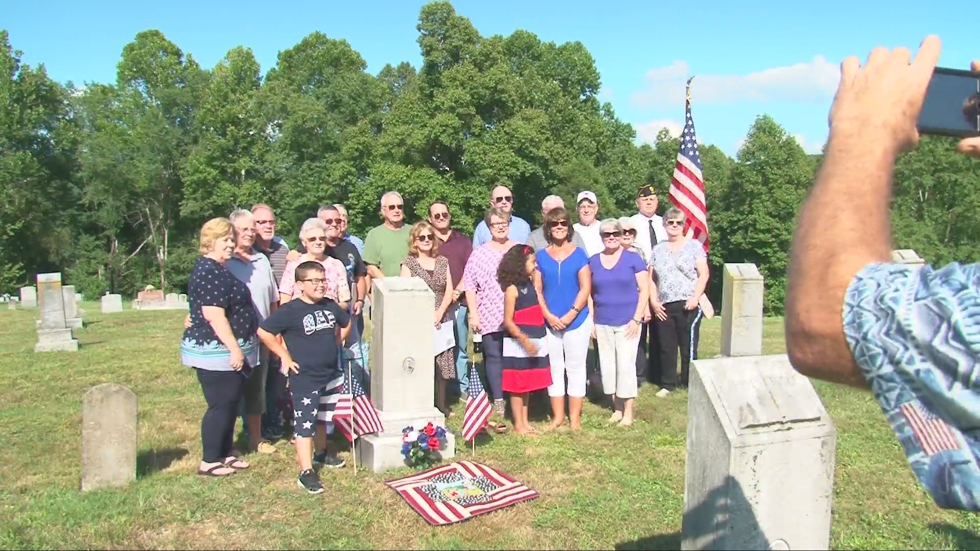 Cabell County Family Honors Soldier 100 Years Later