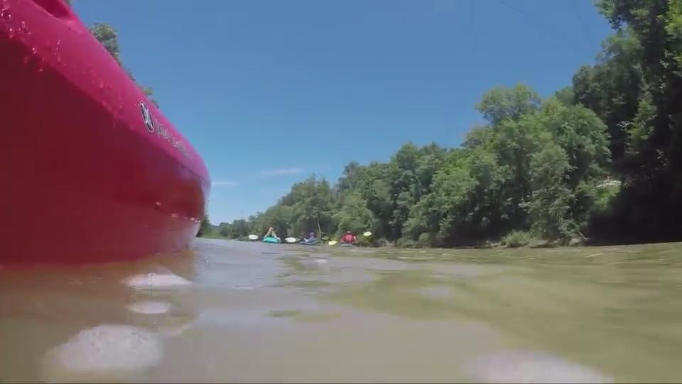 Locals Hit the Elk River In Honor of Elkview Teen