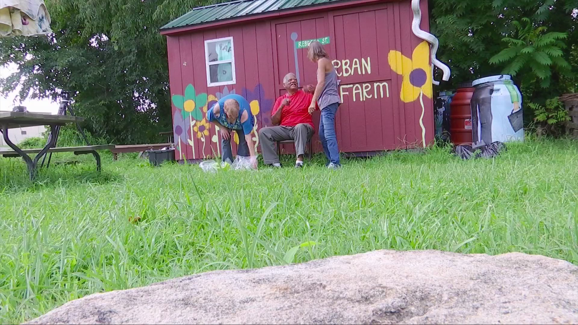 Community Garden Offering Hope to West Side Residents