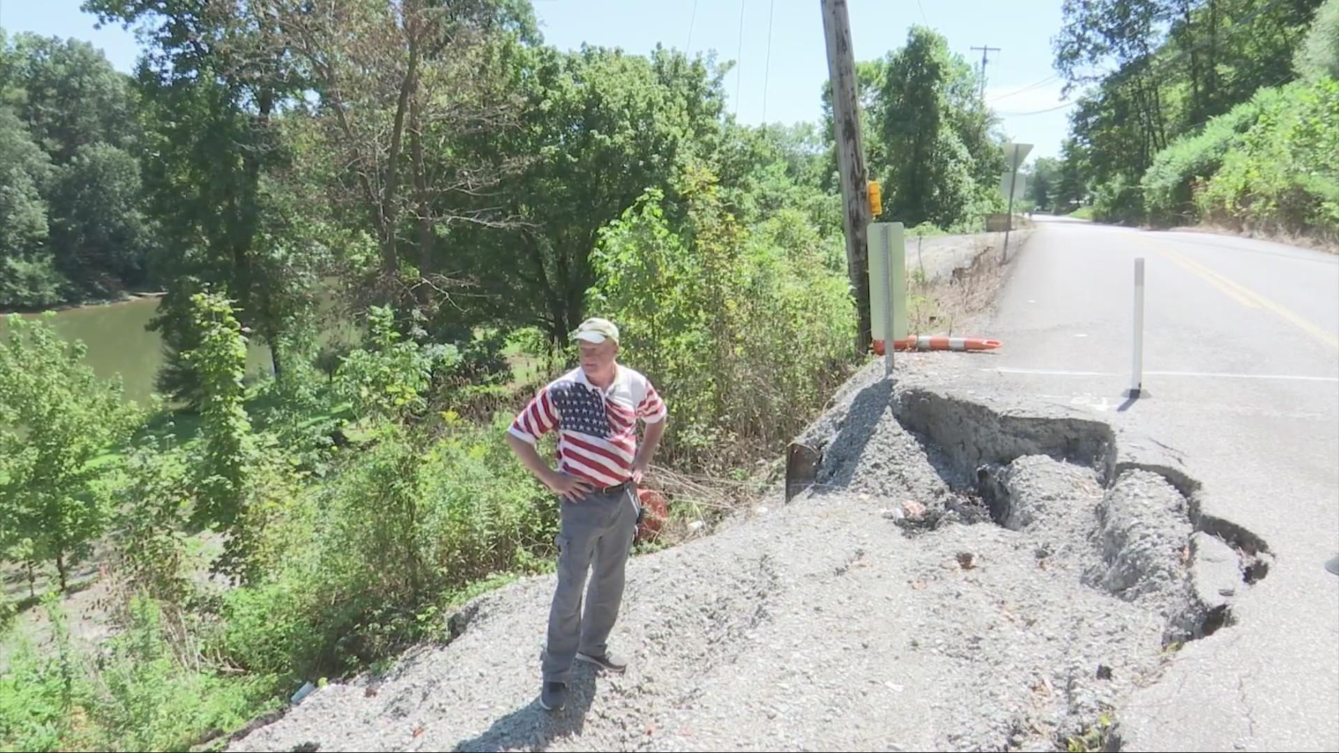 Poca Road Problems Persist