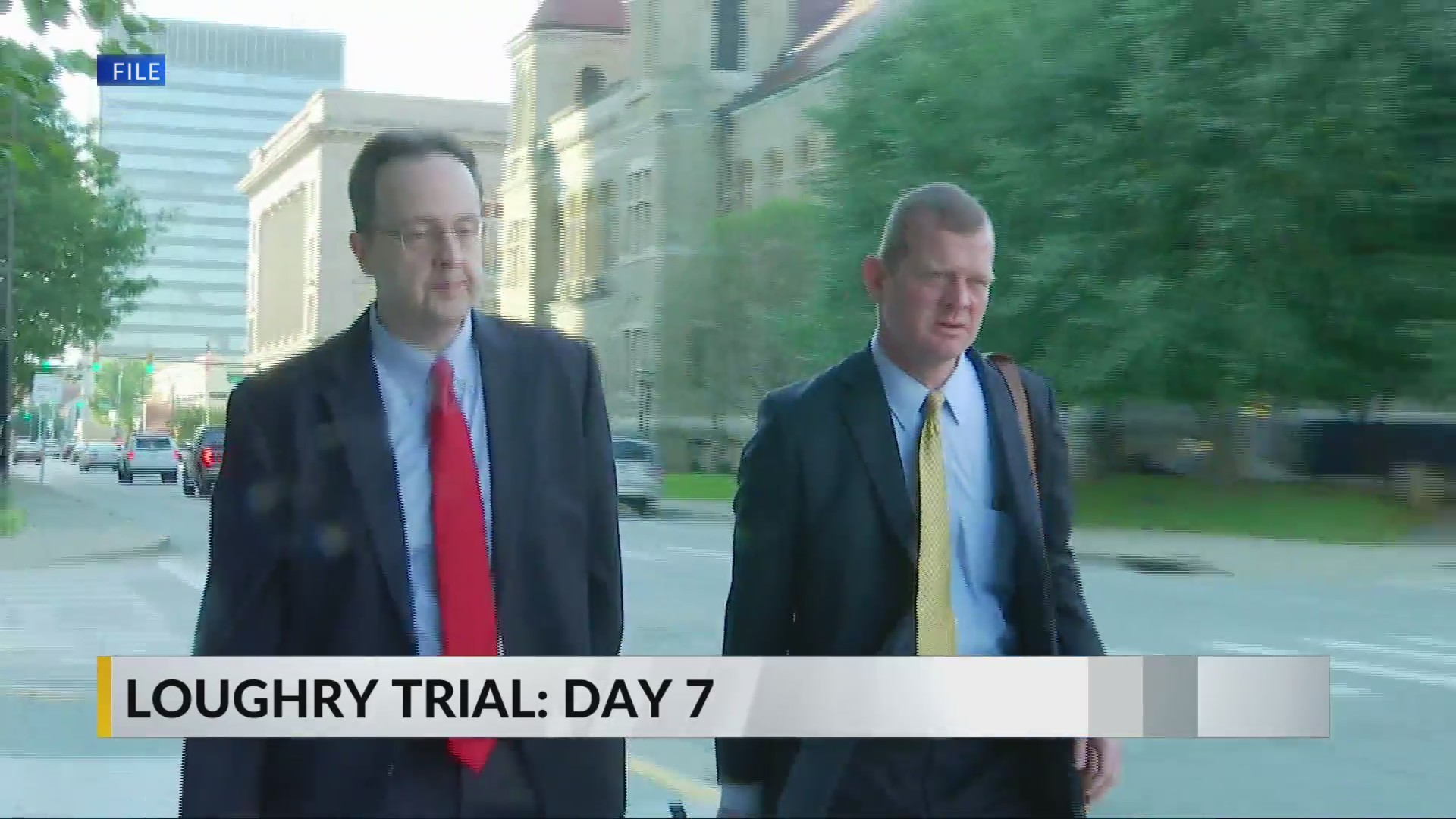 Jury to continue deliberation tomorrow as day 7 of Loughry trial concludes