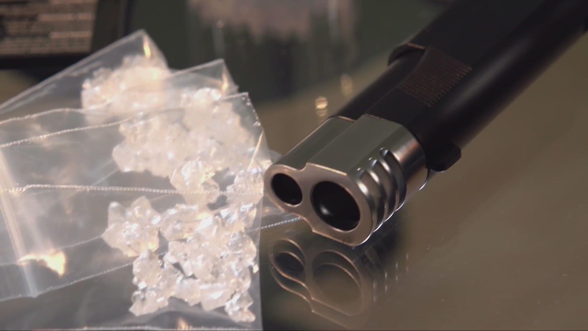 Charleston Police Seize meth, guns During Traffic stop