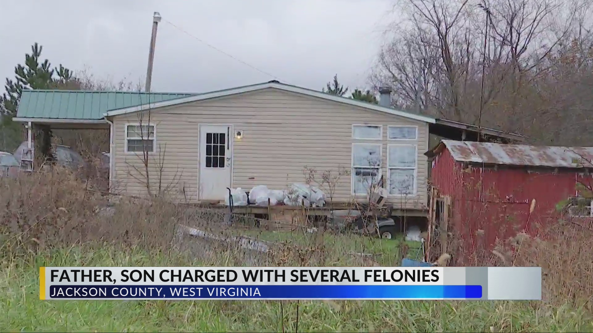 POLICE: Jackson County, WV search warrant yields meth materials, explosive, homemade shotgun