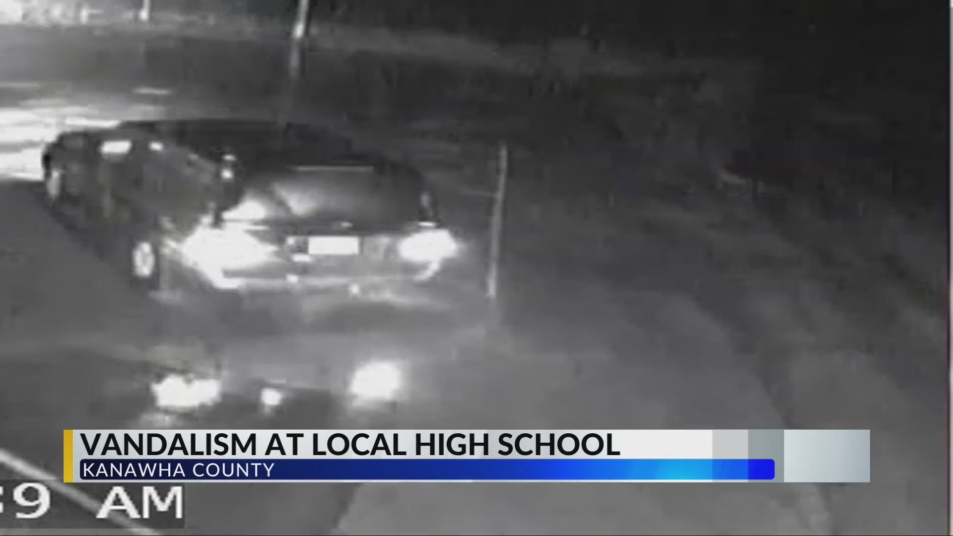 Police Investigate Vandalism at George Washington High School