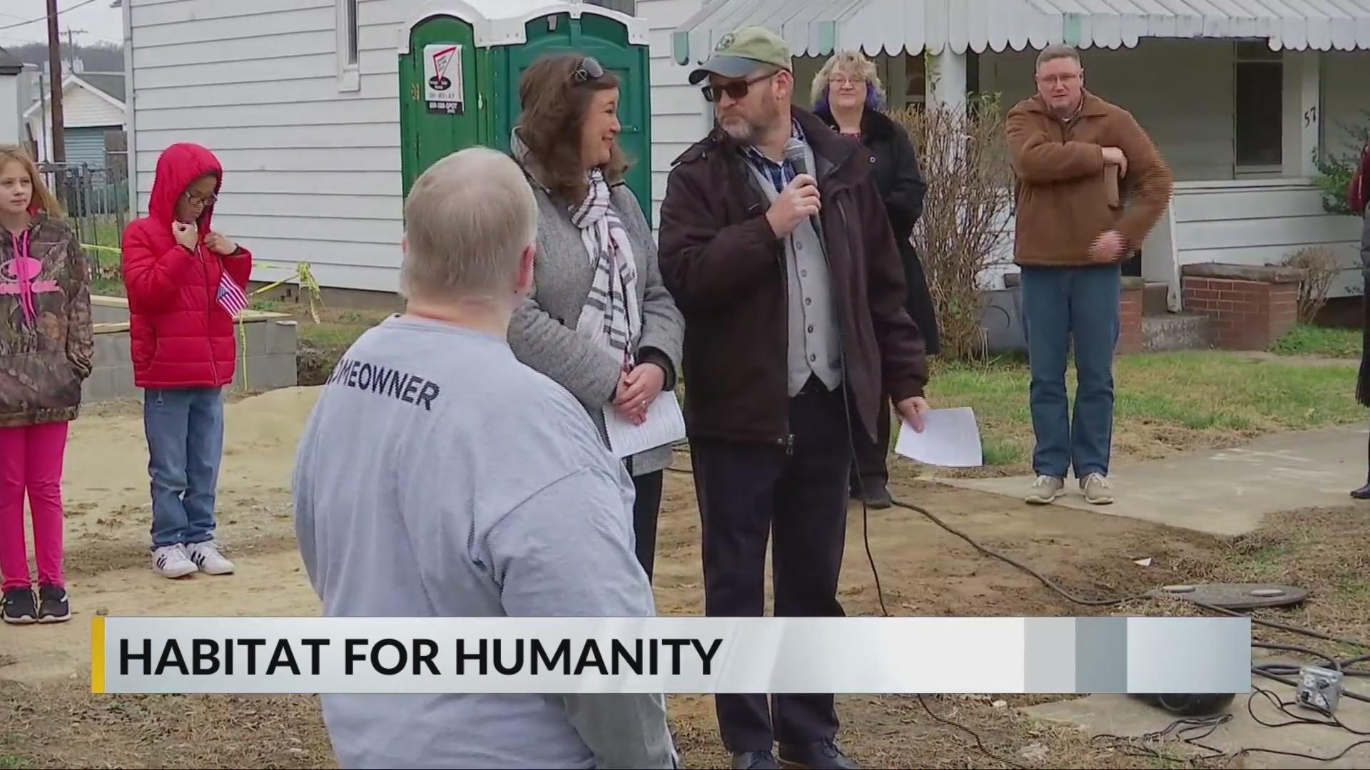 School volunteer will soon be a homeowner