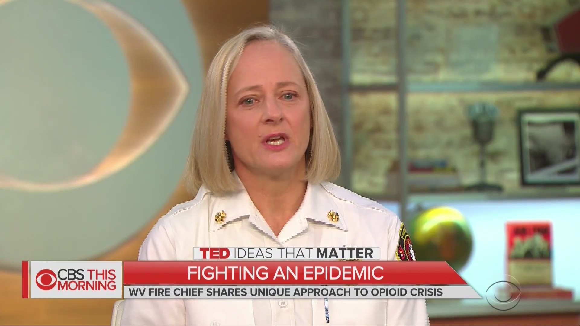 Huntington Fire Chief takes message nationwide with TED Talk, CBS This Morning Appearance