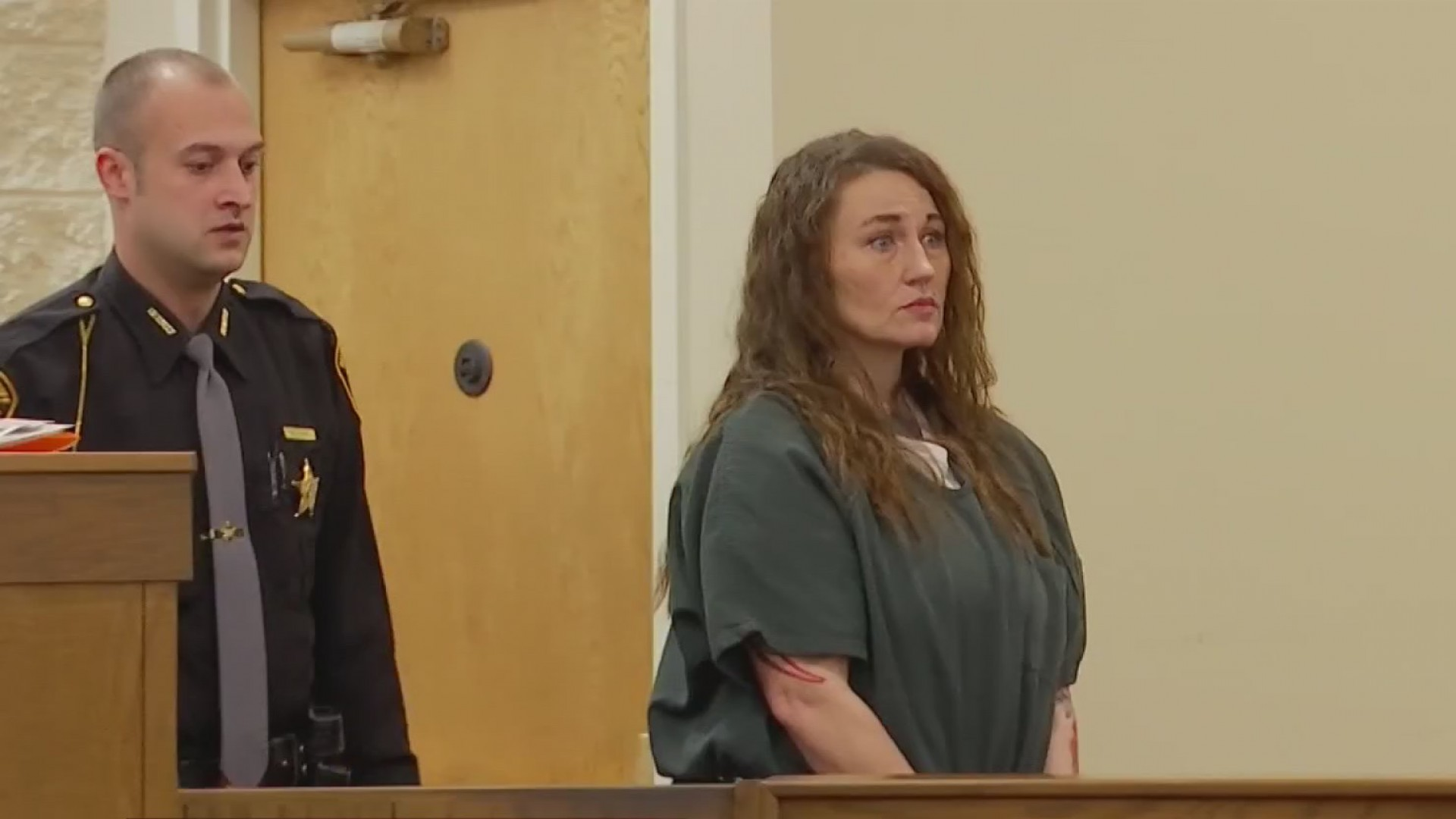 Woman accused of gunning down ex-husband enters new plea