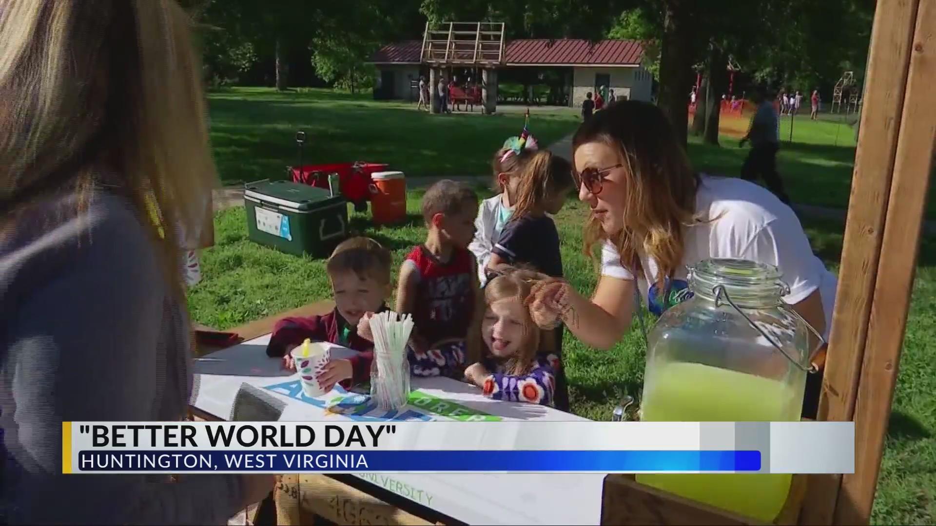 Hundreds of Kids Head to Park for Better World Day