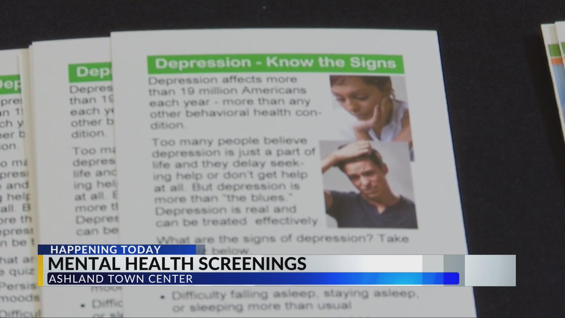 Pathways Holds Mental Health Screenings