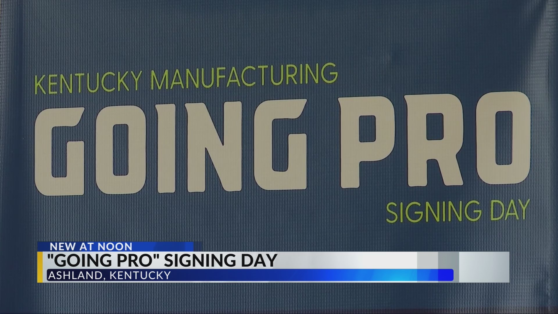 Signing Day Held for Manufacturing Jobs