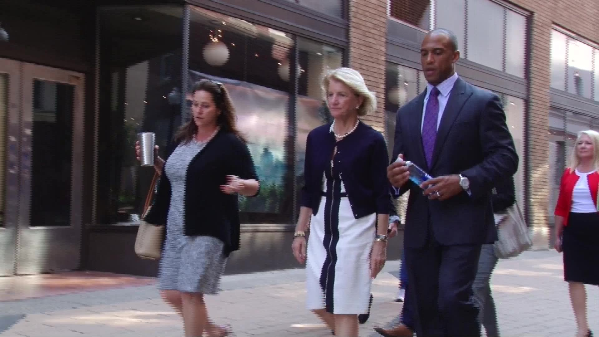 White House staff join Capito in local walk tour