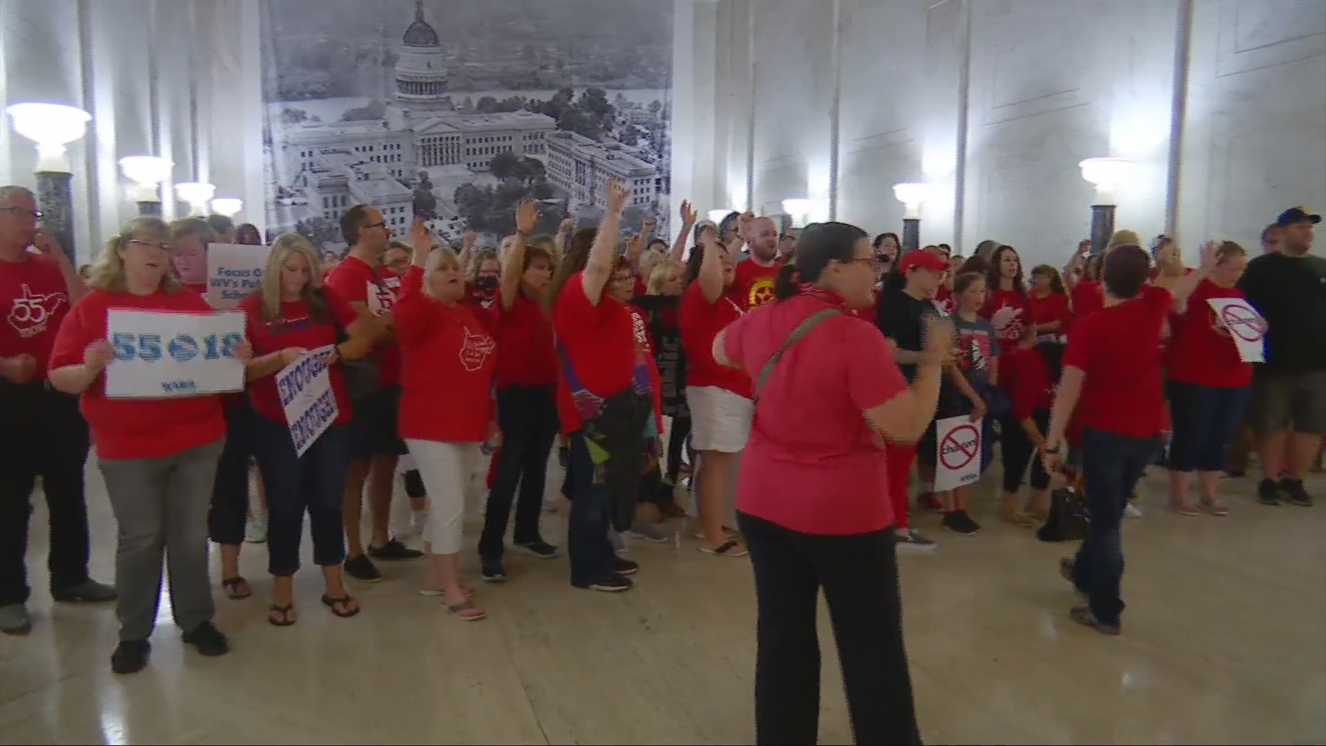 As teachers roar, GOP fails to expedite education plan