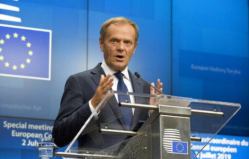 EU chief struggles to sell job winners to hostile lawmakers