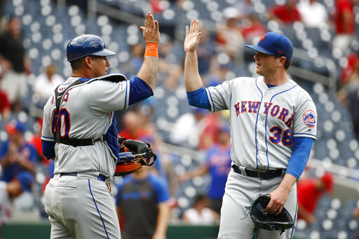 Mets bullpen bounces back, Alonso 45th HR to beat Nats 8-4