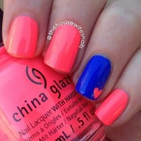 25 Simple yet Classy Nail Art Design For Lazy Girls.