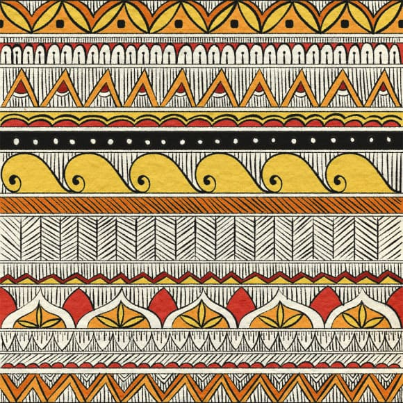 Cute Owl Wallpaper Border Indian Ethnic Fabric High Quality Premium Patterns For Free