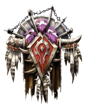 The official symbol of the Horde