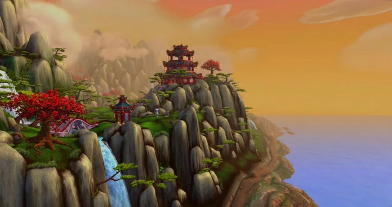 The Wandering Isle in World of Warcraft: Mists of Pandaria