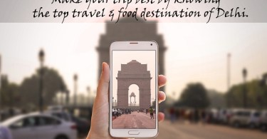 travel and food destination