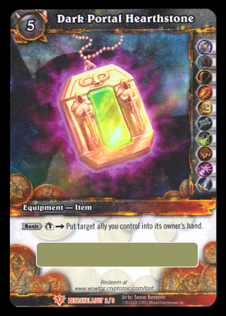 WoW TCG Loot Dark Portal