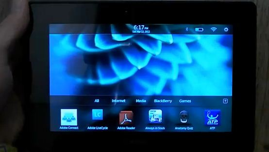 BlackBerry PlayBook Demo