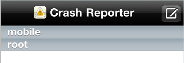 CrashRerporter Helps You Quickly Troubleshoot iOS Jailbreak Issues